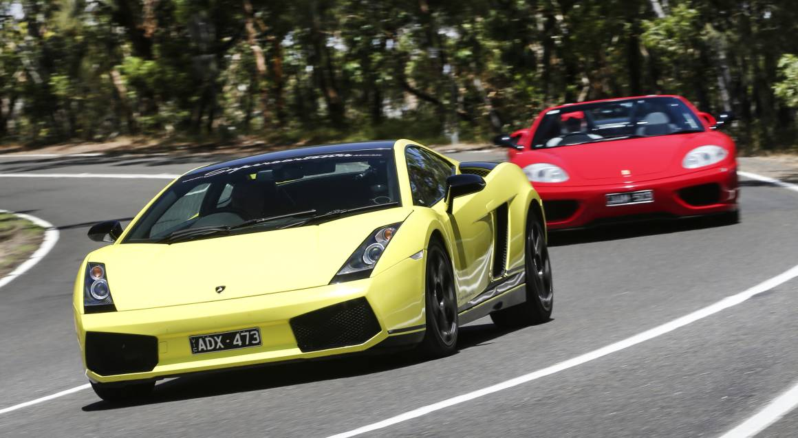 Drive a Lamborghini and a Ferrari - Half Day - For 2