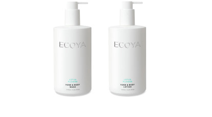 Ecoya Body Wash And Body Lotion Duo Lotus Flower