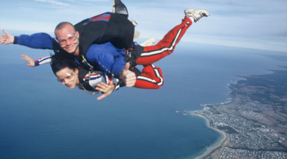 Skydiving bendigo