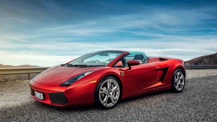 RedBalloon Lamborghini Gallardo Spyder Half Day Hire with Picnic Hamper