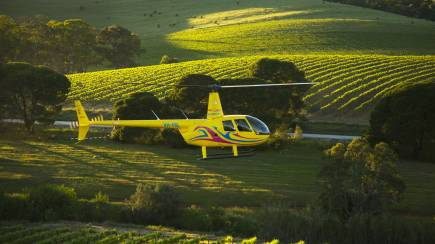 RedBalloon Private Helicopter Flight with 2 Course Lunch and Tasting