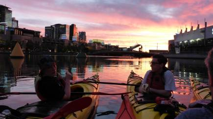 RedBalloon Melbourne City Twilight Sea Kayak Tour - 2.5 Hours