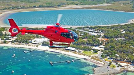 RedBalloon Private Scenic Helicopter Flight to Rottnest Island - For 2