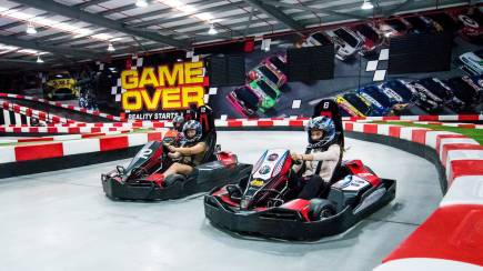 RedBalloon Go Karting, Laser Tag and Indoor Climbing Combo