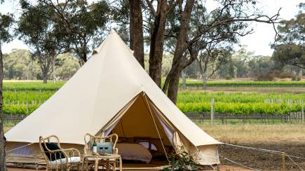 RedBalloon Midweek Winery Glamping with Wine Tastings - For 2