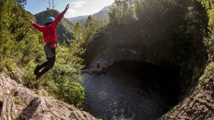 RedBalloon Sleeping God Canyoning Adventure with Photos - Full Day