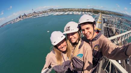 RedBalloon Auckland Harbour Bridge Climb and Bungy Jump with T-Shirt