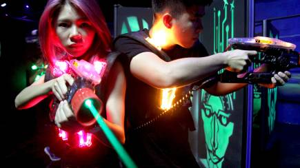RedBalloon 2 Hour Unlimited Laser Tag Pass
