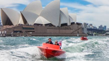 RedBalloon Guided Sydney Harbour Self-Driven Boat Tour - For 2