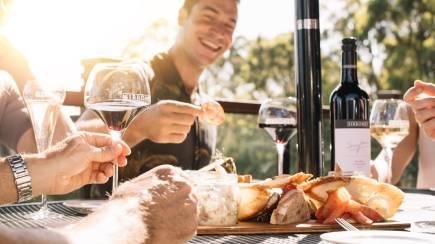 RedBalloon Winery Tour and Tasting with Gourmet Cheese Platter - For 2