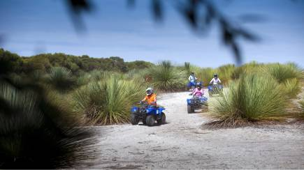 RedBalloon Quad Bike Discovery Tour - 90 Minutes