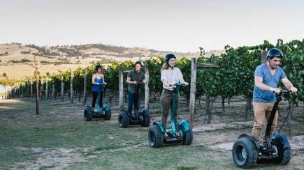 RedBalloon Segway Winery Tour with Tasting and Lunch - For 2