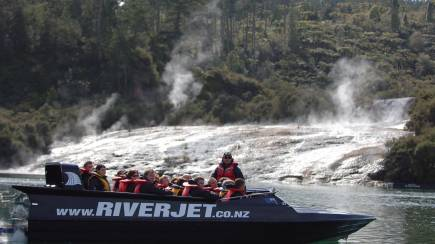 RedBalloon Waikato River Thermal Safari Adventure with Thrill Ride