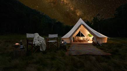 RedBalloon Luxury Glamping at Glenworth Valley - 2 Nights - For 2