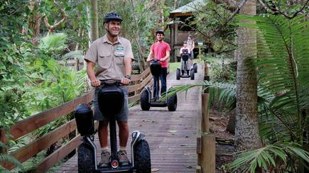 RedBalloon Segway Safari and Currumbin Sanctuary Entry
