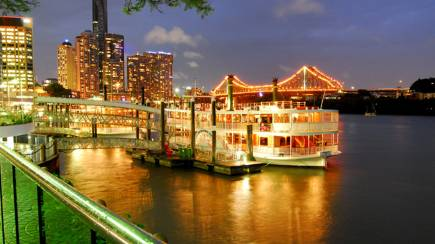 RedBalloon Dinner Cruise on the Brisbane River - For 2