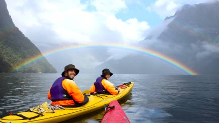 RedBalloon Milford Sound Kayak and Cruise Adventure - Full Day
