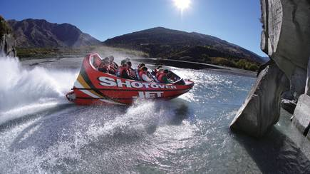 RedBalloon Shotover River Jet Boat Ride
