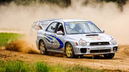 RedBalloon Subaru WRX Rally Car Drive - 6 Laps - Brisbane - For 2