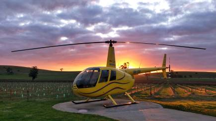 RedBalloon 4 Minute Scenic Helicopter Flight Over Barossa Valley- For 2