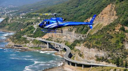 RedBalloon Wollongong Seacliff Bridge Heli Flight - 45 Minutes - For 2