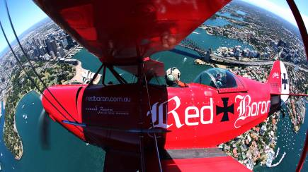 RedBalloon Pitts Special Sydney Harbour Scenic Flight - 50 Minutes