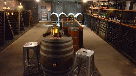 RedBalloon Underground Cellar Wine Tasting and 3 Course Dinner - For 2