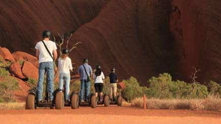 RedBalloon Uluru By Segway Sightseeing Tour