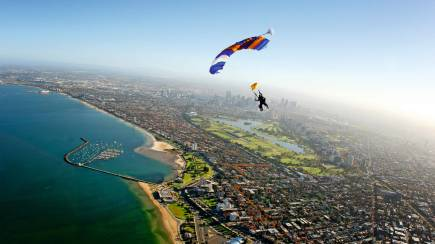 RedBalloon Skydive Over St Kilda, Melbourne - 15,000ft - Midweek