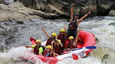 RedBalloon White Water Rafting at Barron Gorge - Half Day