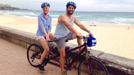 RedBalloon Tandem Bicycle Hire in Manly - 2 Hours