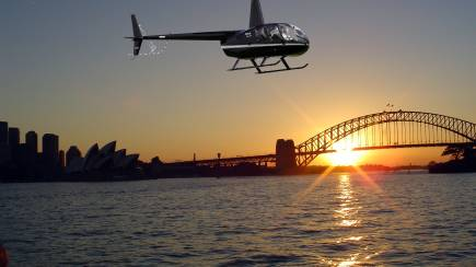 RedBalloon Private Sunset Helicopter Flight Over Sydney - For 2