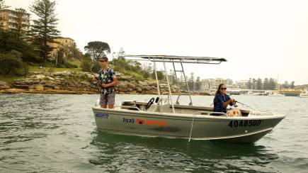 RedBalloon Boat Hire for Fishing - 4 Hours - For 4