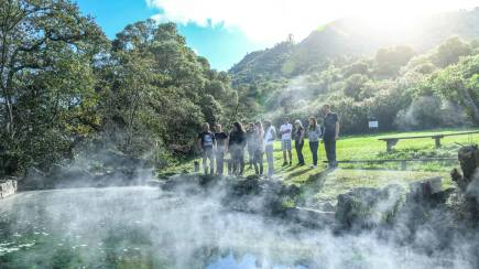RedBalloon Manupirua Hot Pools and Mokoia Island Tour - Half Day