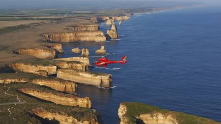 RedBalloon Helicopter Flight Over The 12 Apostles with Ground Tour