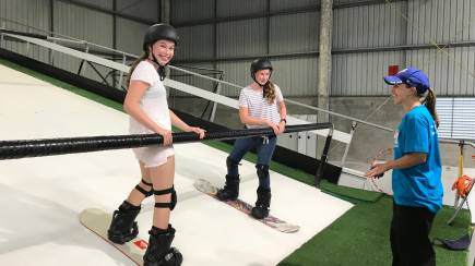 RedBalloon Private Indoor Ski or Snowboard Lesson - 60 Minutes