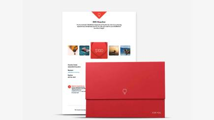 RedBalloon $100 Gift Voucher