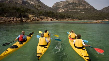 RedBalloon Guided Kayak in Freycinet National Park - 3 Hours