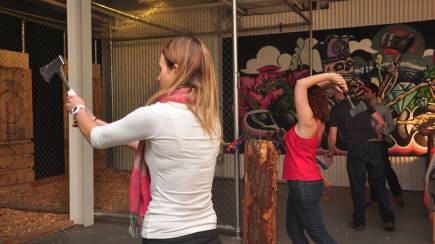 RedBalloon Axe Throwing Session - Sydney - For 2