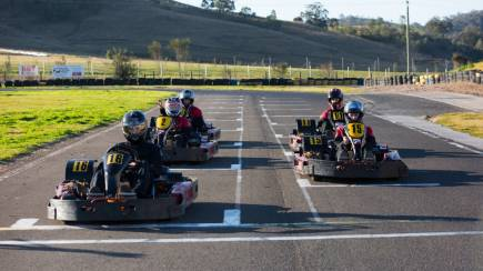 RedBalloon Group Challenge Outdoor Karting - 45 Minutes - For 10