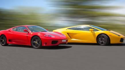 Drive A Lamborghini And A Ferrari   60 Minutes