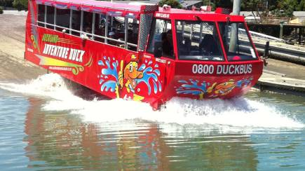RedBalloon Highlights of Auckland Duck Bus Tour