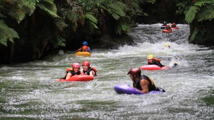 RedBalloon Whitewater Sledging on Kaituna River