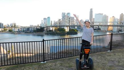 RedBalloon Segway Joy Ride Around Brisbane - 75 Minutes