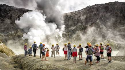 RedBalloon Live Marine Volcano Tour of White Island