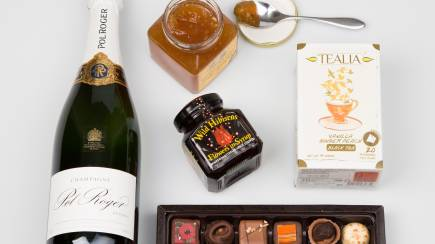 RedBalloon Spoil Her Gourmet Hamper with Champagne
