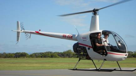RedBalloon Learn to Fly a Robinson R22 Helicopter - 30 Minutes