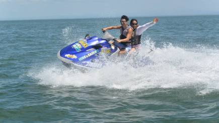 RedBalloon Jet Ski Tour of Bribie Creeks - 60 Minutes