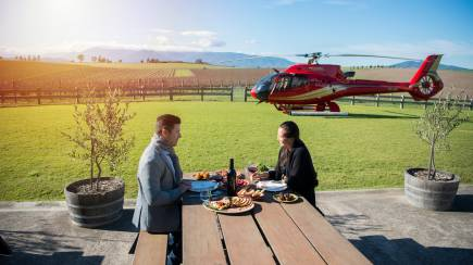RedBalloon Private Helicopter Flight to the Yarra Valley with Lunch