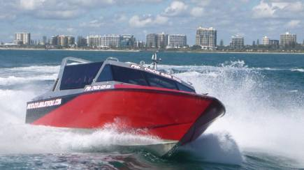 RedBalloon Jet Boat Ocean Thrill Ride - 45 Minutes